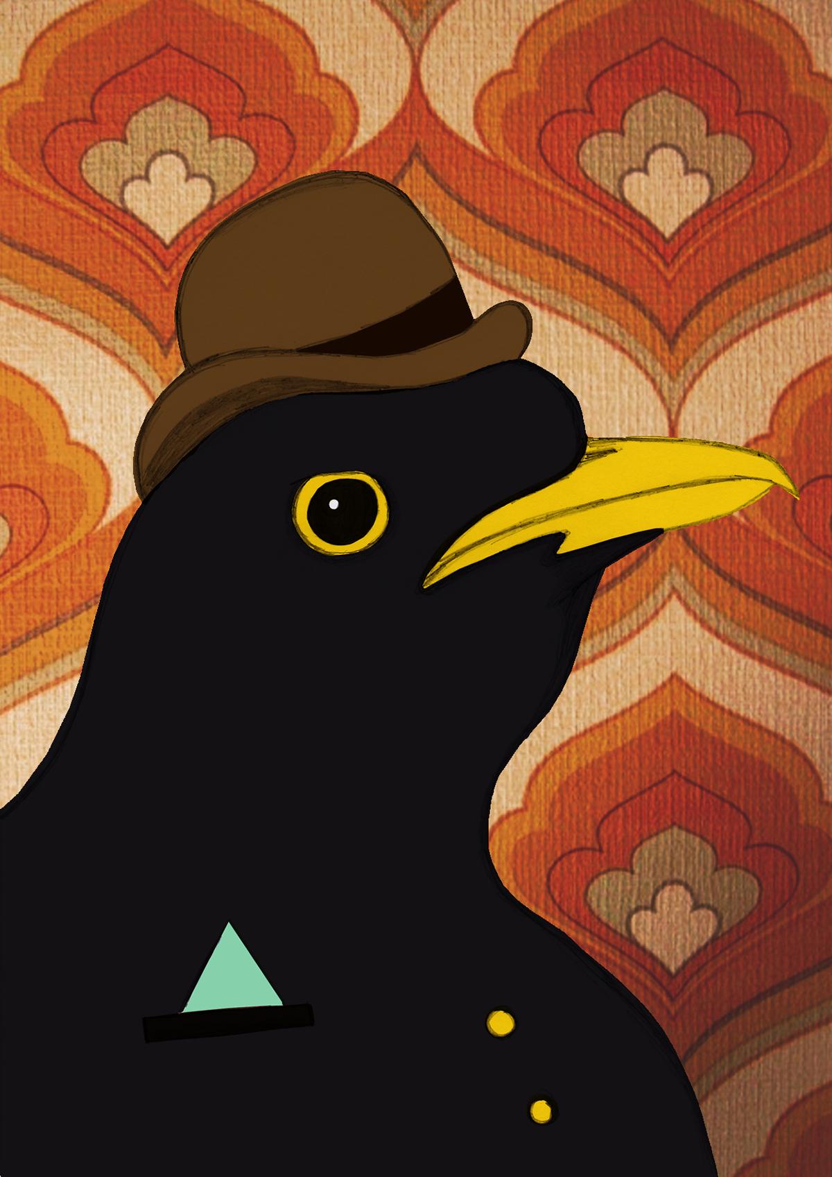 Gentlemen Birds Blackbird
