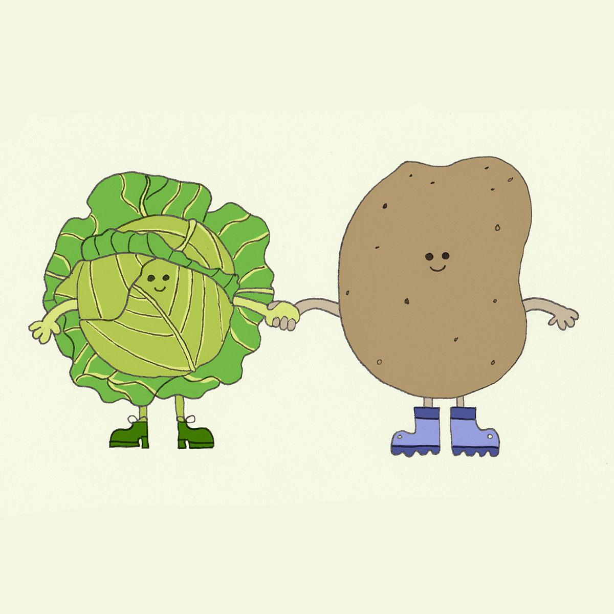 Together Forever Cabbage and Spuds