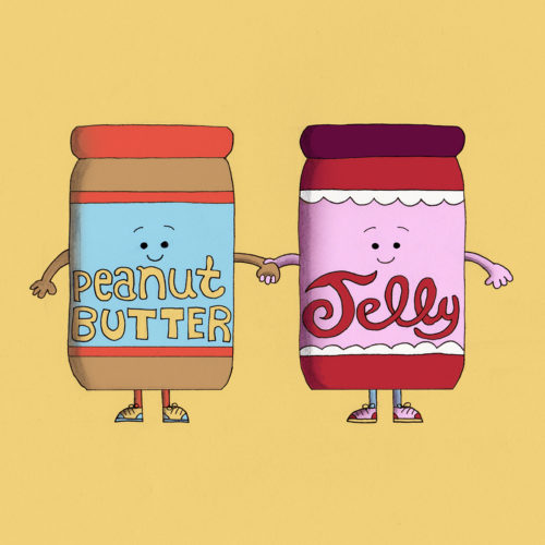 Together Forever Peanut Butter and Jelly