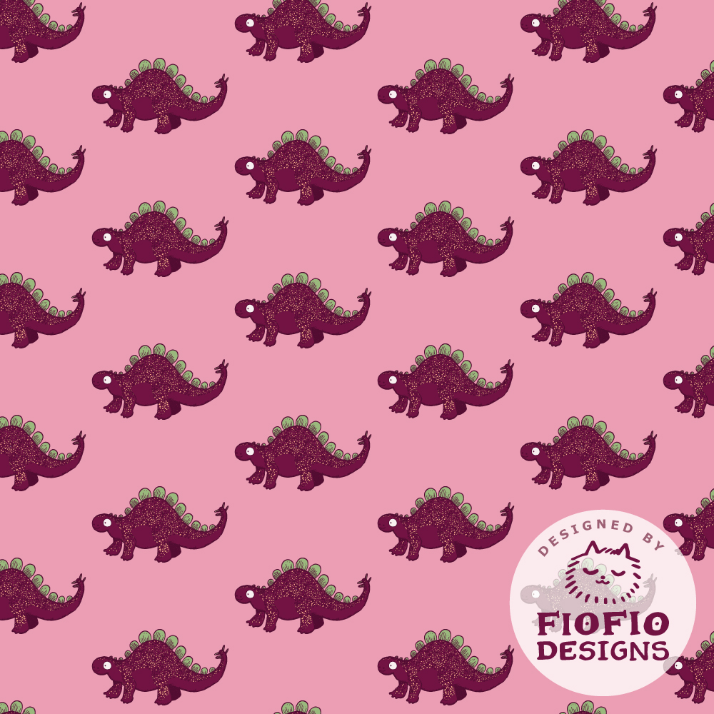 Dinosaurs Stegosaurus